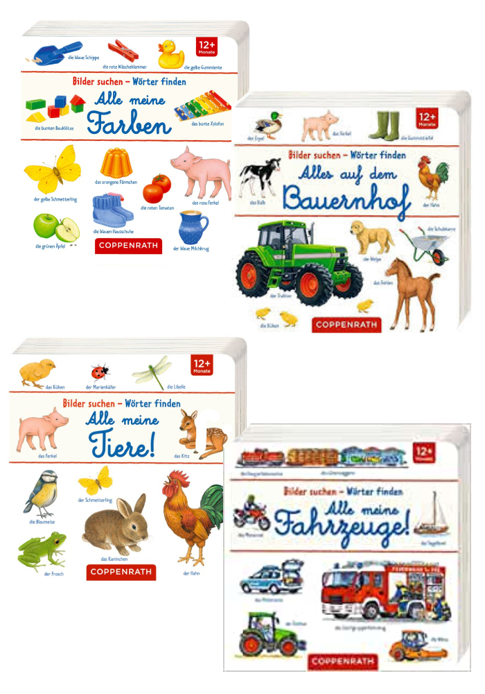 Kinderbuch Bilder suchen – Wörter finden